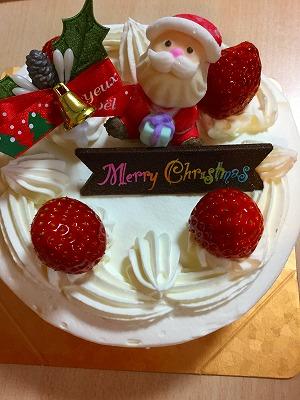 ケーキ美味しかったです!