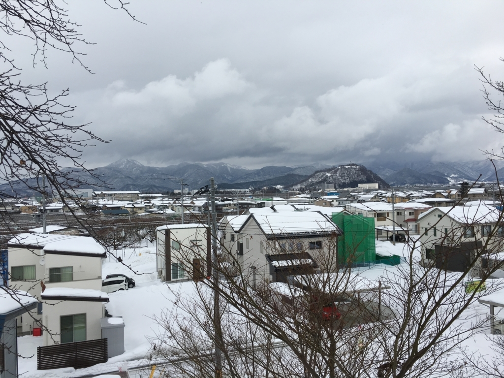 大森山、甑岳の眺め