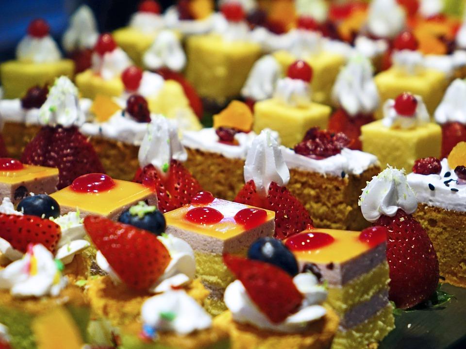 スイーツ類のケーキ