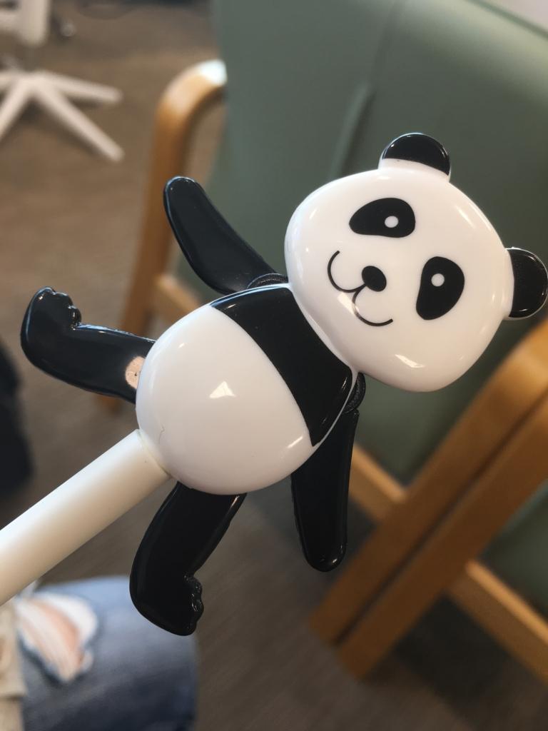 パンダのボールペン