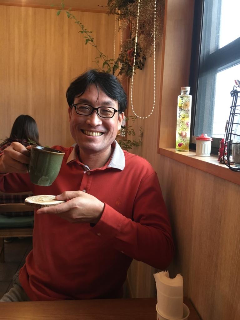 笑顔の土屋幸太郎氏