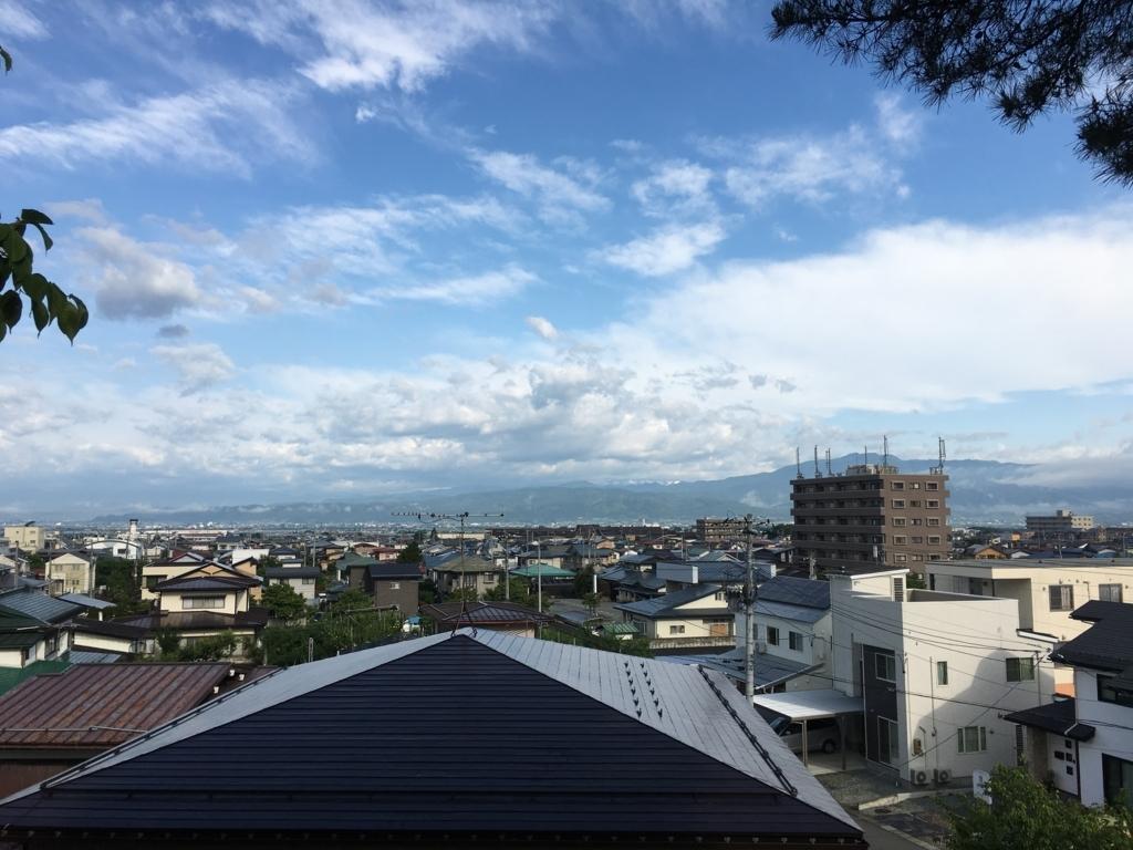 大日尊からの眺め