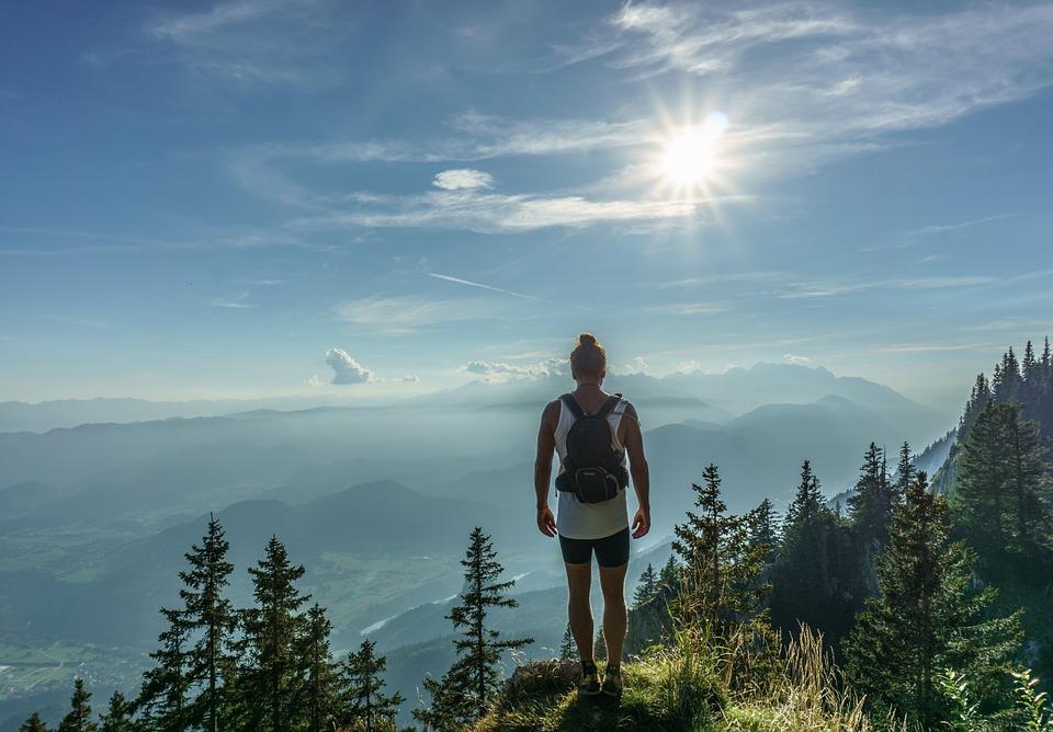 山歩きは人生と似ています
