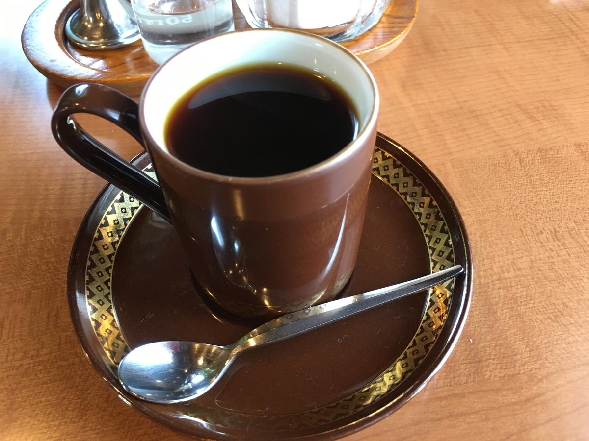 この一杯のコーヒーが美味しいです。基本通りにトアルコトラジャです。