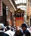 京都新聞写真コンテスト アーケード巡行(大津祭り)