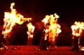京都新聞写真コンテスト  漁火(堅田漁火祭り)