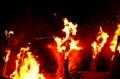 京都新聞写真コンテスト  よし松明(堅田漁火祭り)