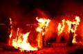 京都新聞写真コンテスト  漁火祭り(堅田火祭り)