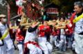 京都新聞写真コンテスト 春を呼ぶ左義長祭り