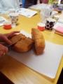 ハーブ講座 シナモンとマーマレードのパン