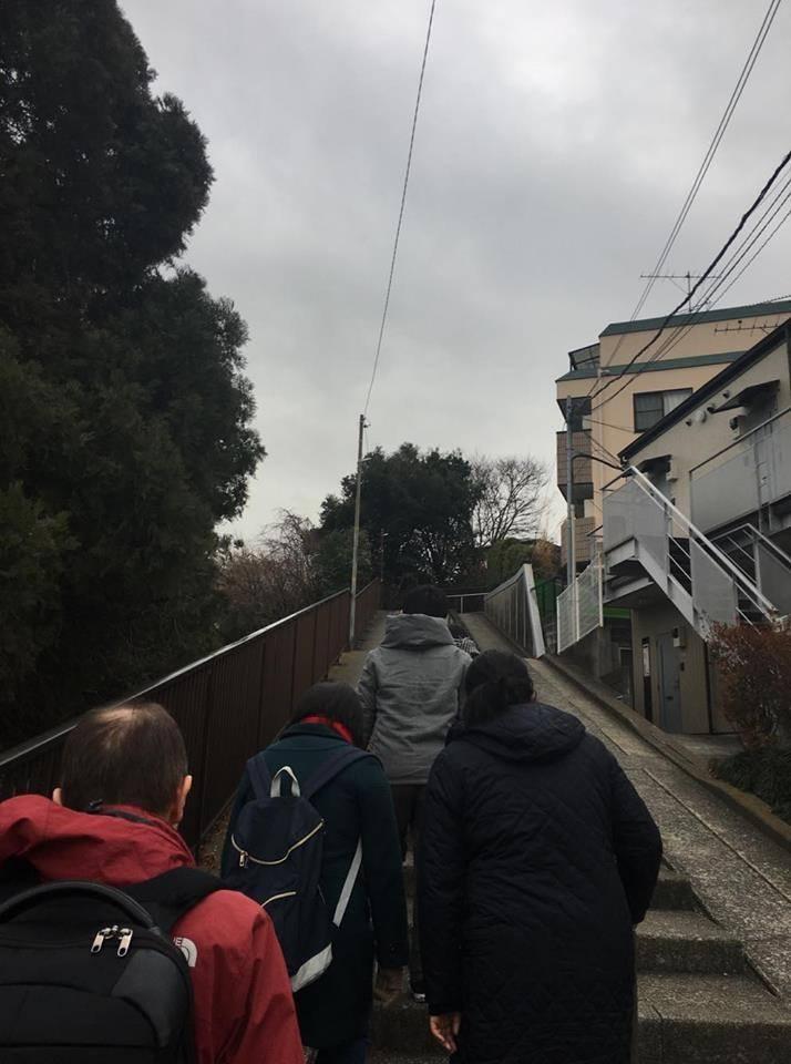 1月交流会で初詣に篠原八幡神社へ行ってきました☆