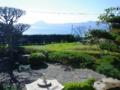 庭よりの眺望