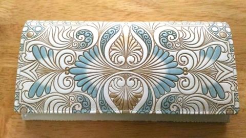 pretty nice 763da 91d8b シンプルで上品。文庫屋大関のスリムな長財布に買い替えました ...