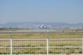 [飛行機]大阪空港付近にて。