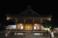 三島大社、夜の舞殿。