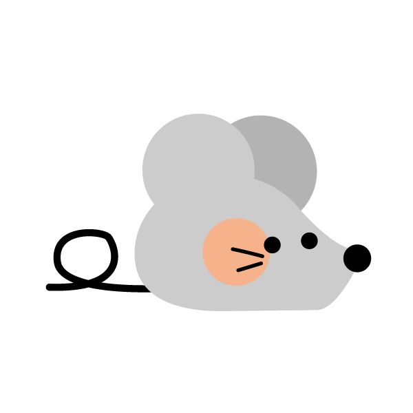 Cute rat (right facing)