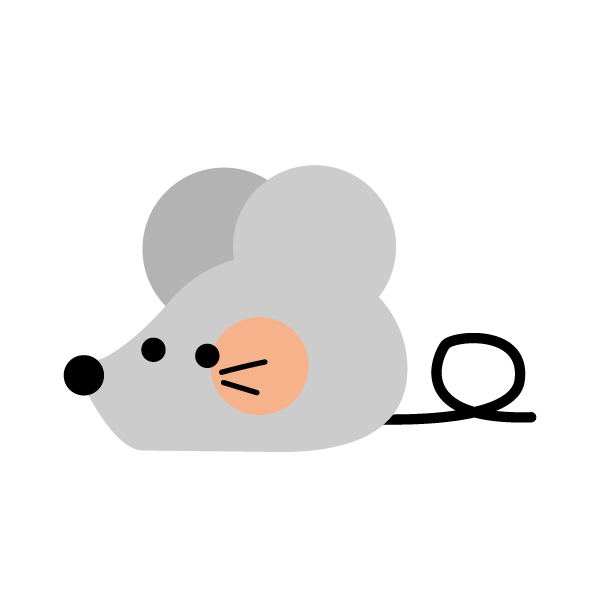 Cute rat (facing left)