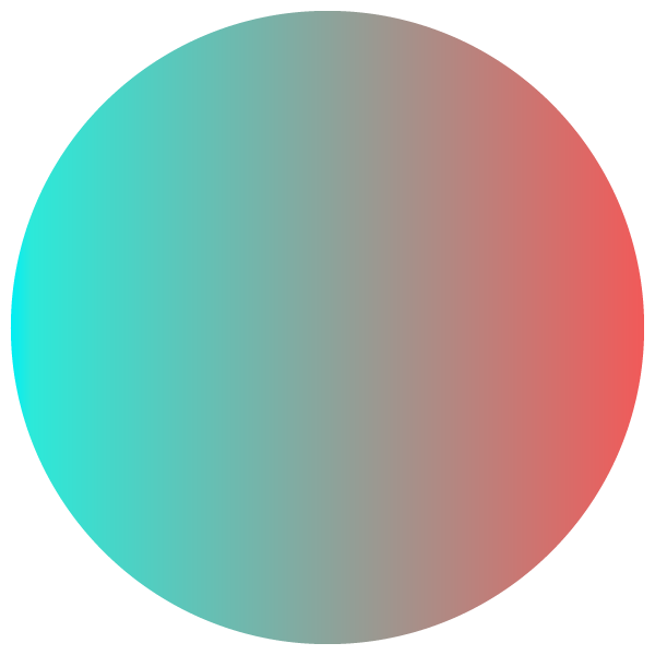 Stylish gradient color circle