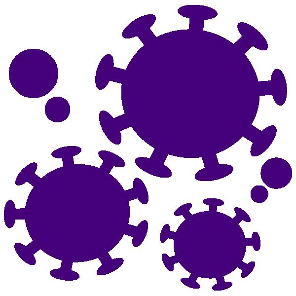 Coronavirus simple icon 3