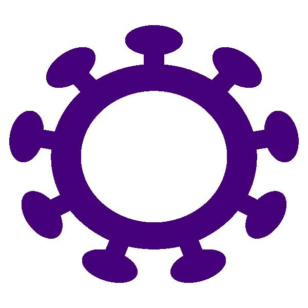 Coronavirus circle