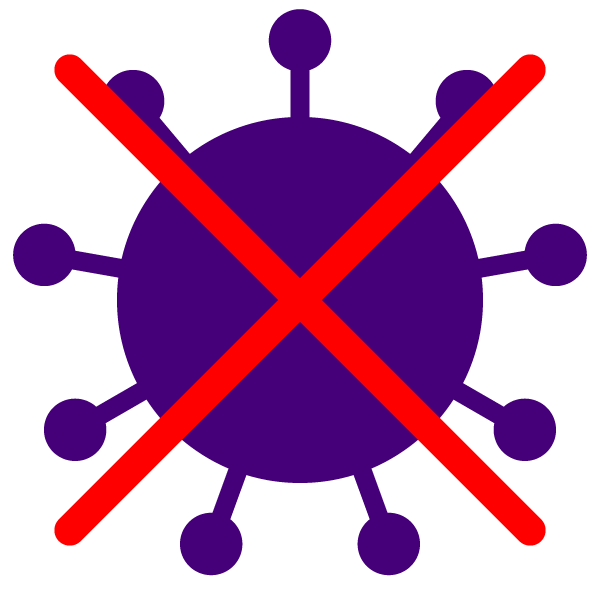 X to Coronavirus icon(with color)