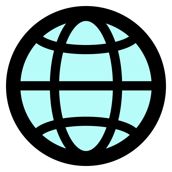 Global network illustration icon