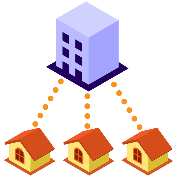 illustration icon of Work from home