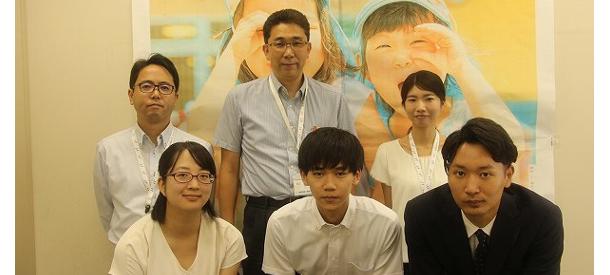 川崎市シティプロモーション推進室の職員と牧瀬ゼミの学生たち