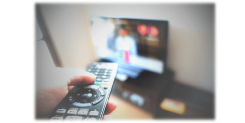 テレビは気軽な情報源のひとつ
