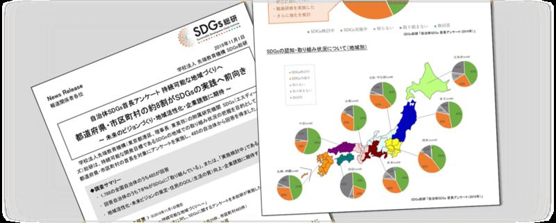 SDGs総研が実施した首長アンケート調査結果(同調査のニュースリリースより)