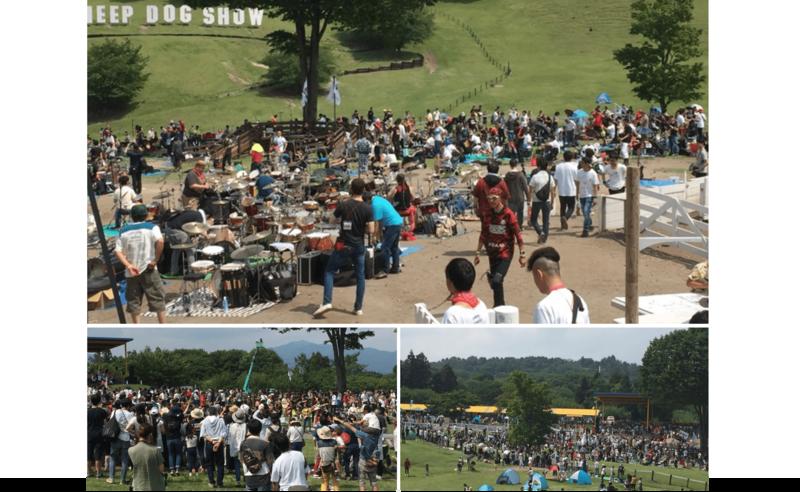 1000人ROCK FES.GUNMAの様子(筆者撮影)