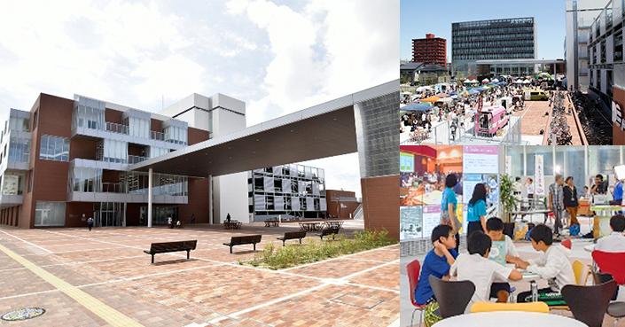 集客力のある「図書館」を核に市内中心街を活性化へ導く