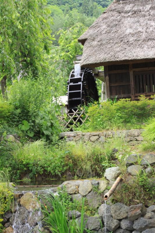 富士山 西湖 根場(ねんば) 古里