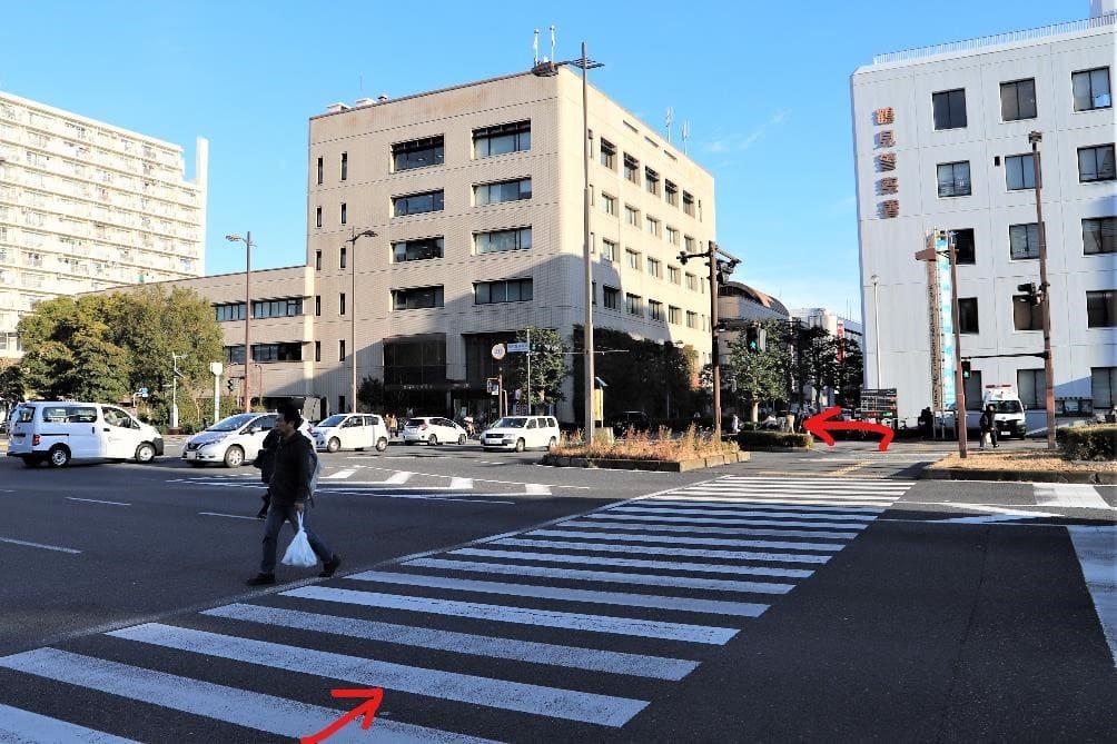 turumi station yokohama city tsurumi kuyakusho Ward office 9