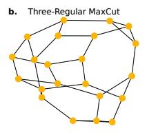 Three-regular maxcut