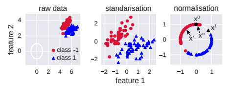 Data standarization and normalization