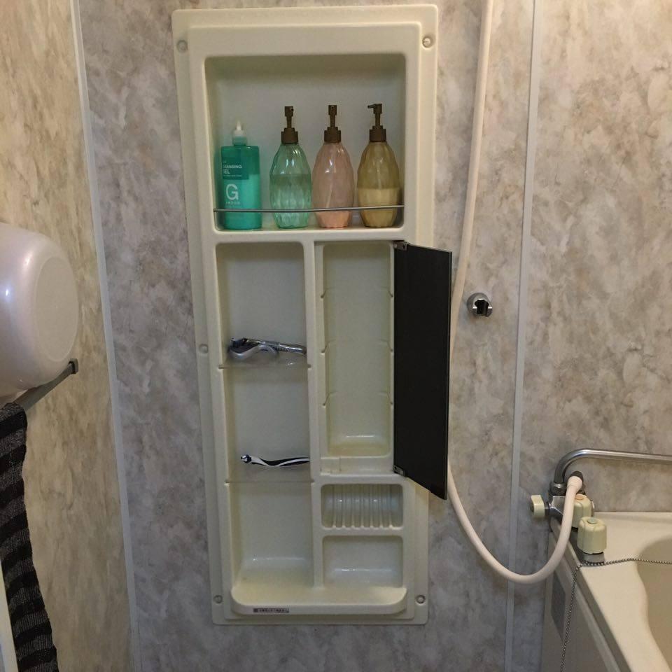 ミニマリストお風呂場WEB内覧会|普通の家にあって我が家にないものとは?