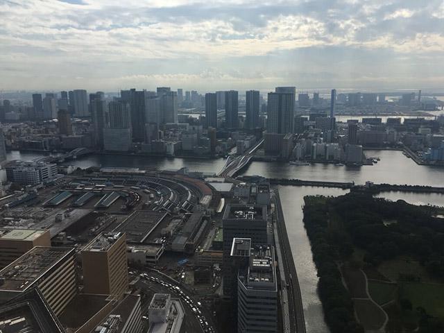 【写真あり】築地市場が閉場して10日後の様子を上空から撮影