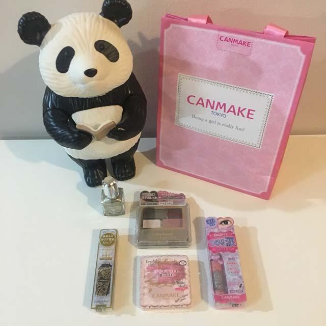 2019年度版「キャンメイク(CAN MAKE)700円福袋」「キャンメイク ラッキーバッグ 2019」内容一覧