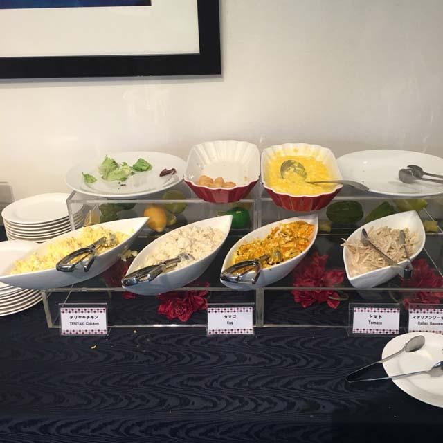 チサン ホテル 浜松町 レストランラウンジ「ravenna」の手作りサンドイッチバイキングは、13時以降にインすると残飯さらいみたいなことするハメになる