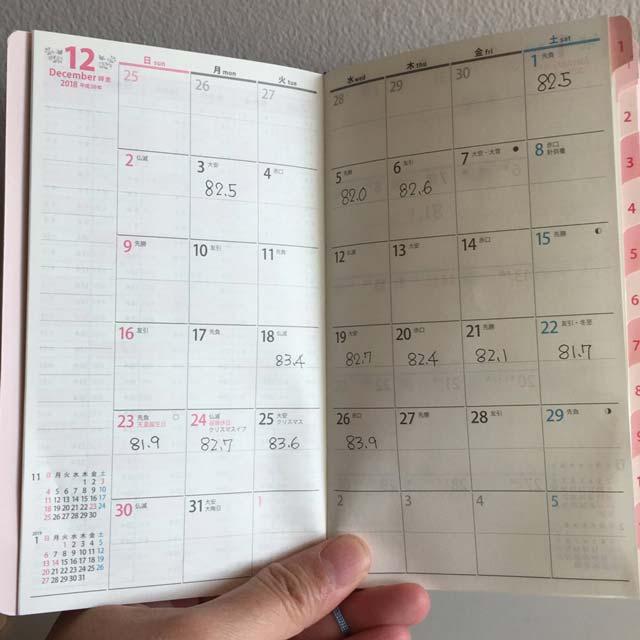 ペイジェムの大人気手帳「ファミリー×Monthly」は、スリムな手のひらサイズで、見開きで2週間分のスケジュールがチェックできる独自規格が使いやすい