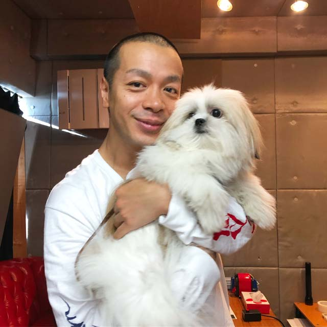 かわいすぎるミックス犬「モコゾウ」に峯田和伸もみうらじゅんも田口トモロヲも夢中!