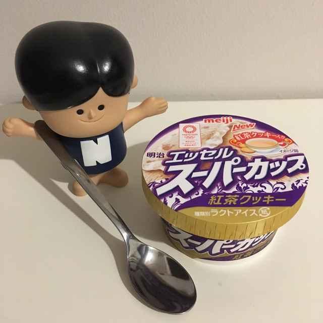 明治エッセルスーパーカップ「紅茶クッキー」が濃厚なロイヤルミルクティーをアイスクリームにしたような、上品なおいしさ