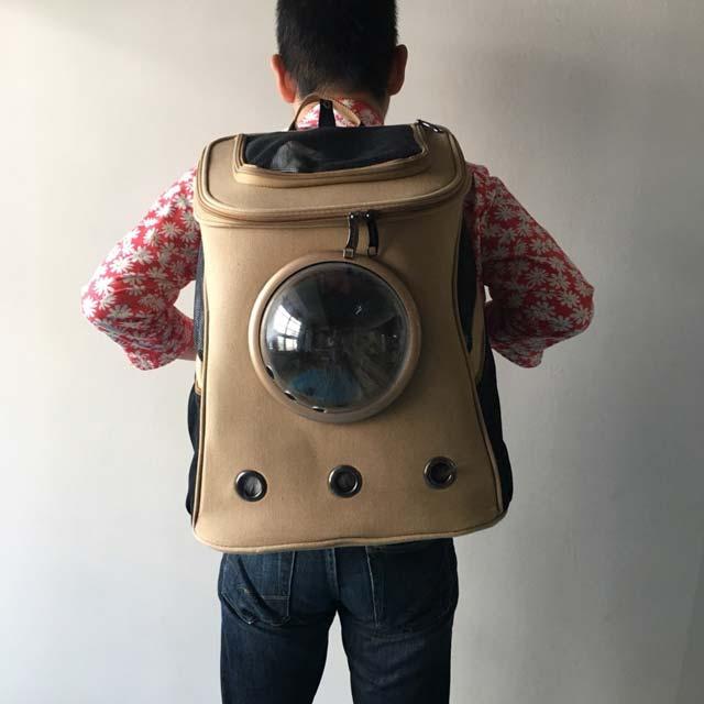 大きい猫用キャリーバッグは災害時避難用にリュックタイプをオススメ