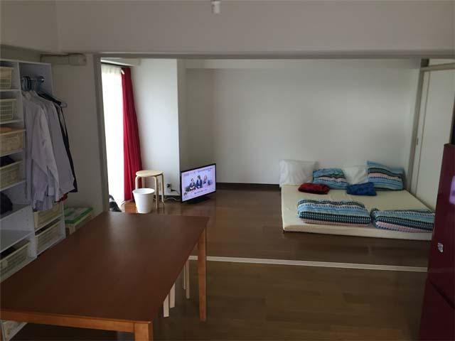 50平米中古マンションをワンルームにセルフリノベーション【ビフォー編】