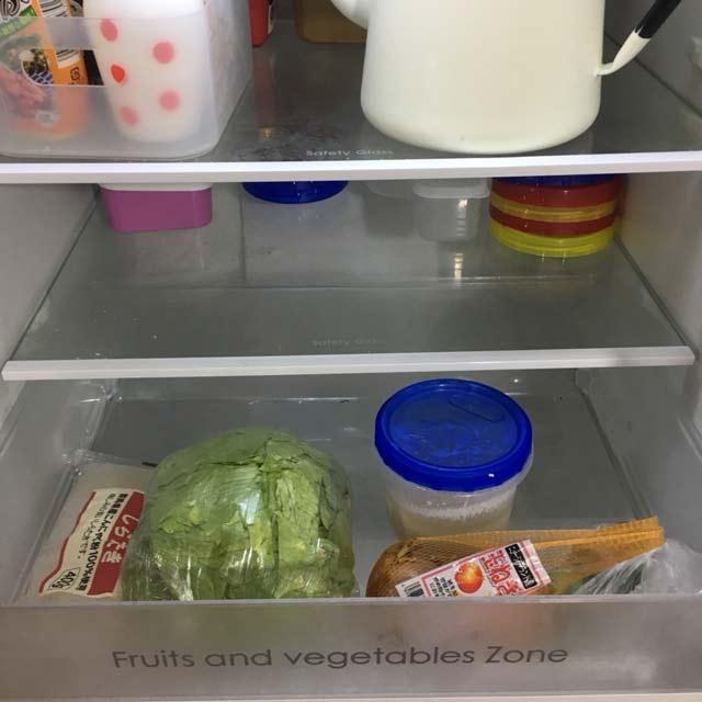 「1週間2000円生活」スタート前に冷蔵庫の中も確認しておこう