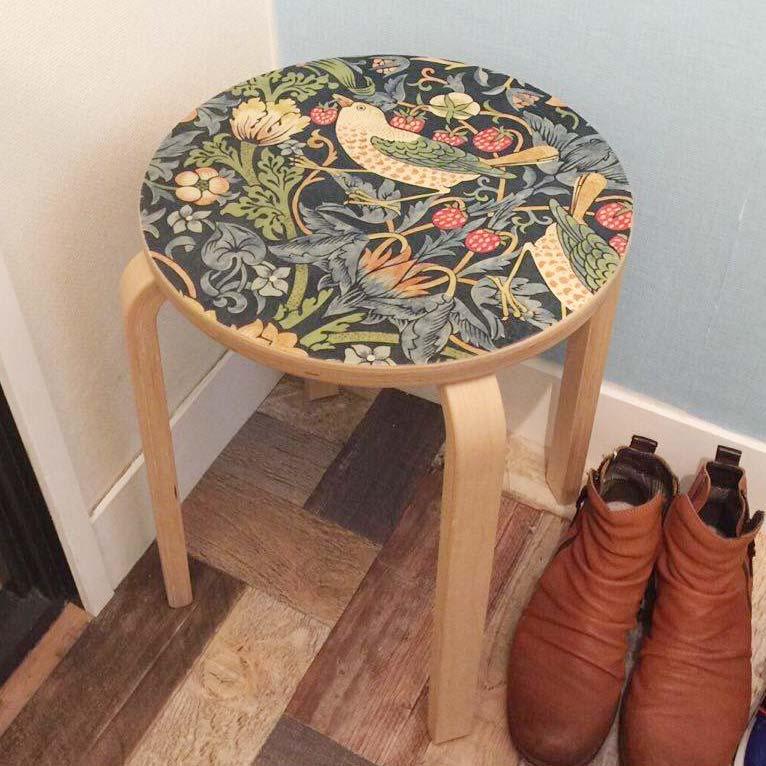 IKEA (イケア)の丸椅子「フロスタ」をIKEA HACK(イケアハック)して、自分だけのオリジナルスツールを作る方法