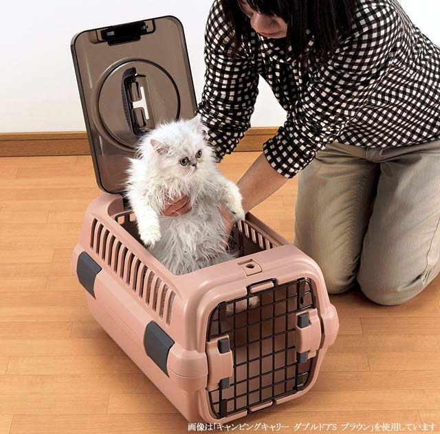 犬猫用ペットキャリー|人気猫も使ってる!おしゃれで機能的なキャリーバッグリッチェル