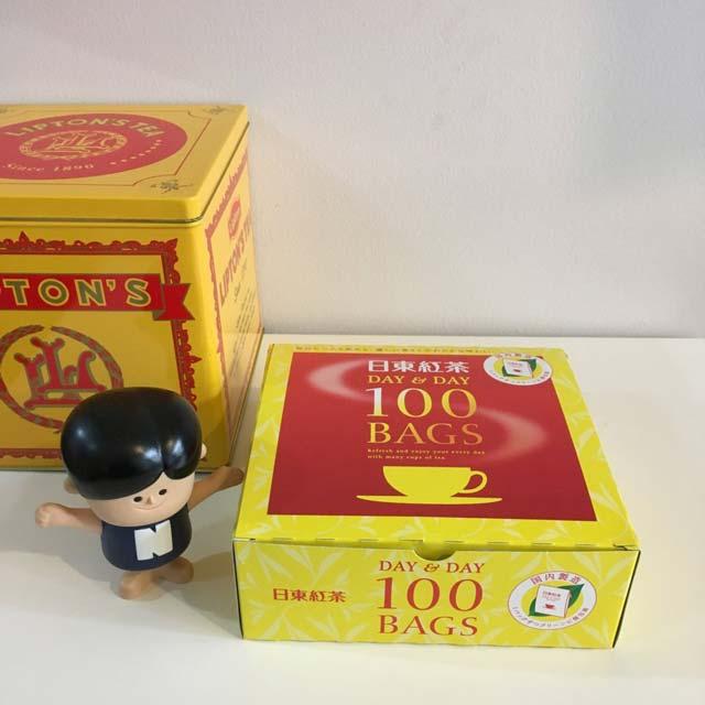 日東紅茶のティーバッグが、安すぎるくせにそこそこおいしくてお得すぎる件
