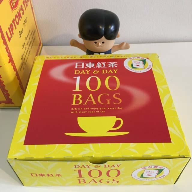日東紅茶のティーバッグが、安すぎるくせにそこそこおいしくてお得すぎ